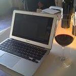 WIne & laptop