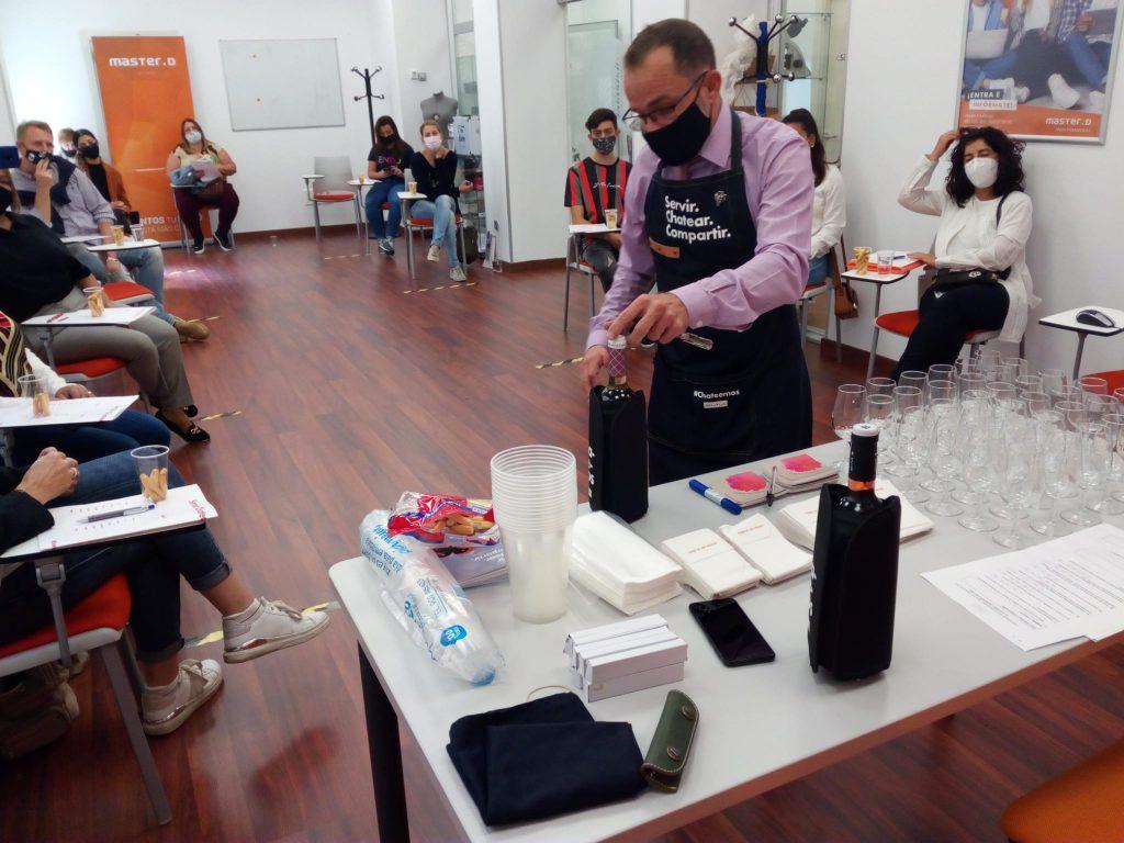 formación en vinos