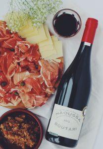 Armonías de vinos y platos